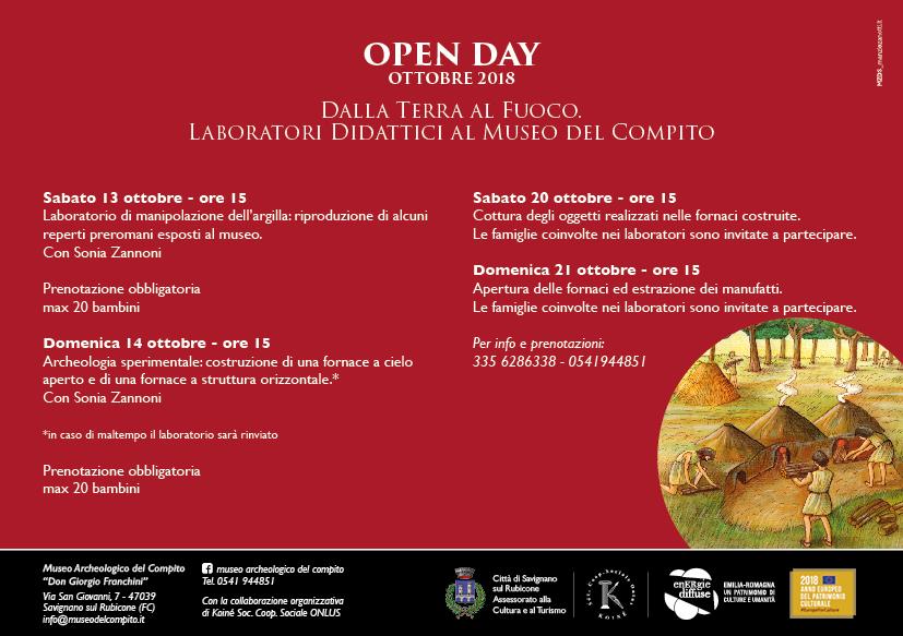 Cartolina Open Day 2018